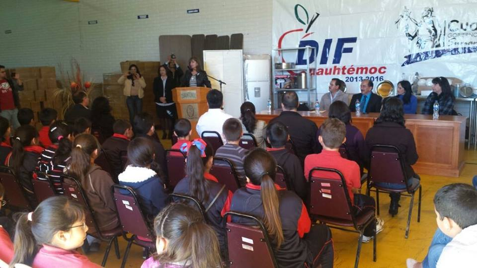 Entrega dif municipal ocho cocinas a escuelas for Comedores escolares en colombia